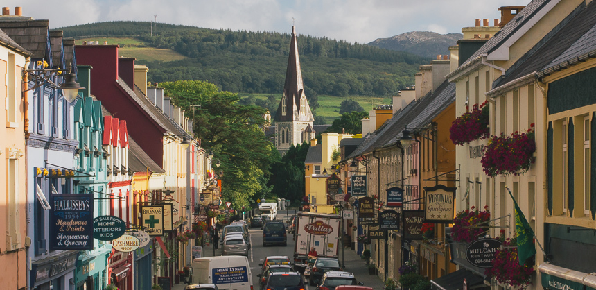 Kenmare Co Kerry The Jewel In The Ring Of Kerry