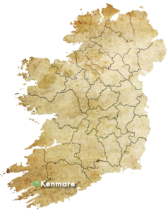 Map Of Southern Ireland Cities.Kenmare Co Kerry The Jewel In The Ring Of Kerry